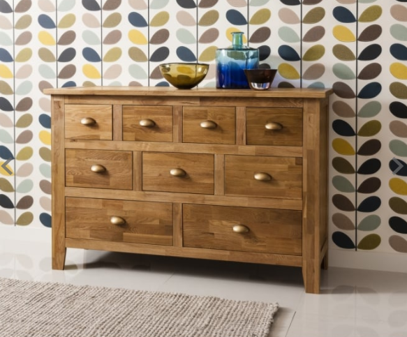 Vermont Solid Sideboard in Natural Oak - Noa & Nani cropped