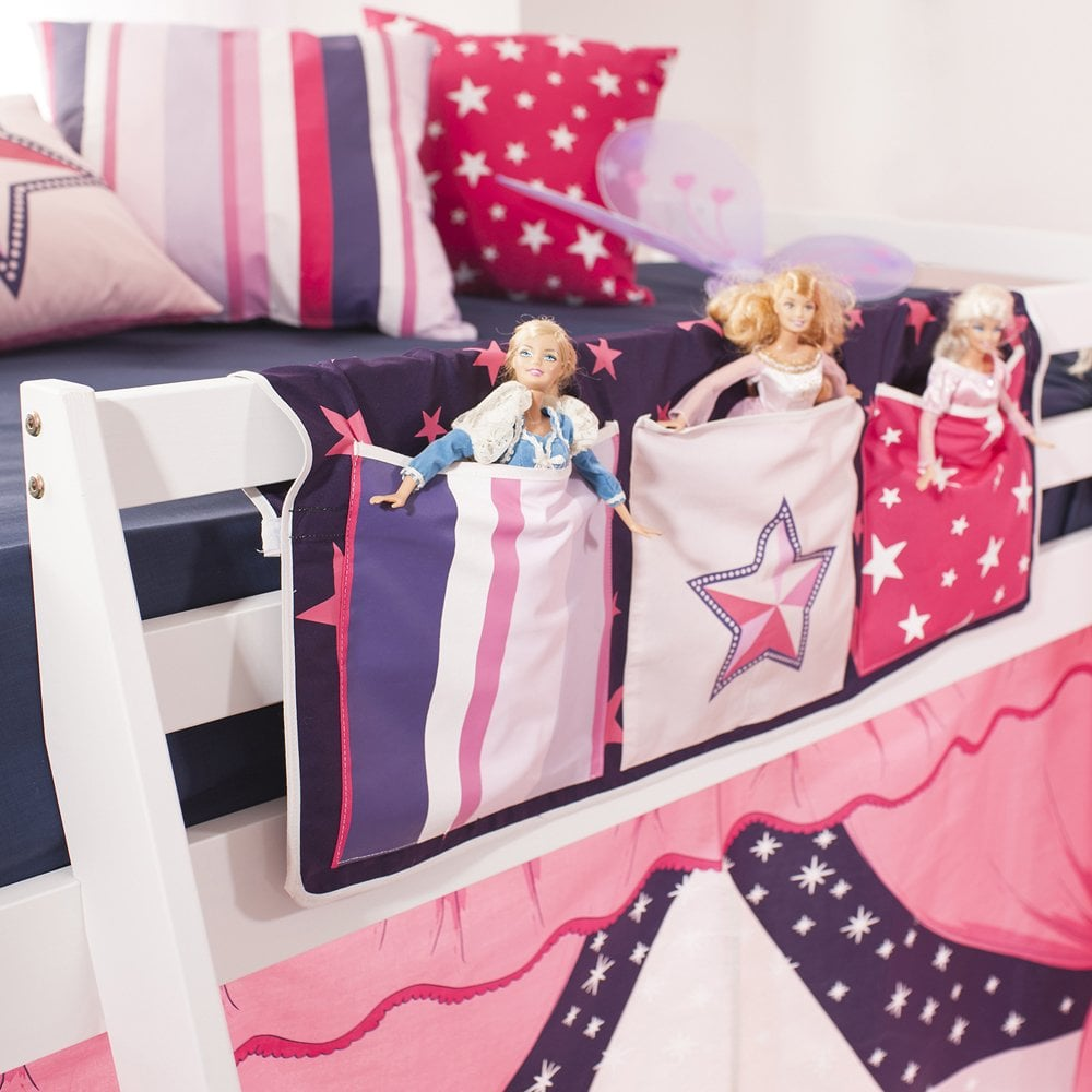 kids bedroom storage ideas pink bed pockets for box room