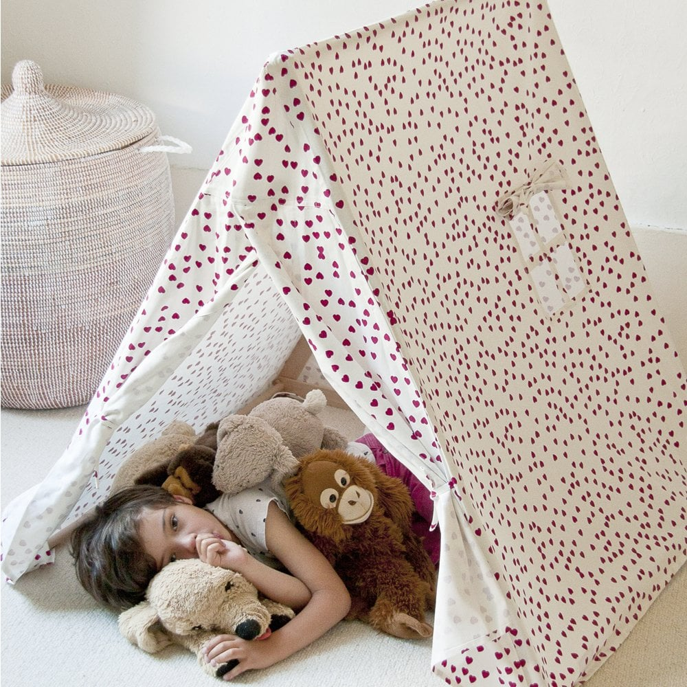 kids shared bedroom brother and sister sharing play tent