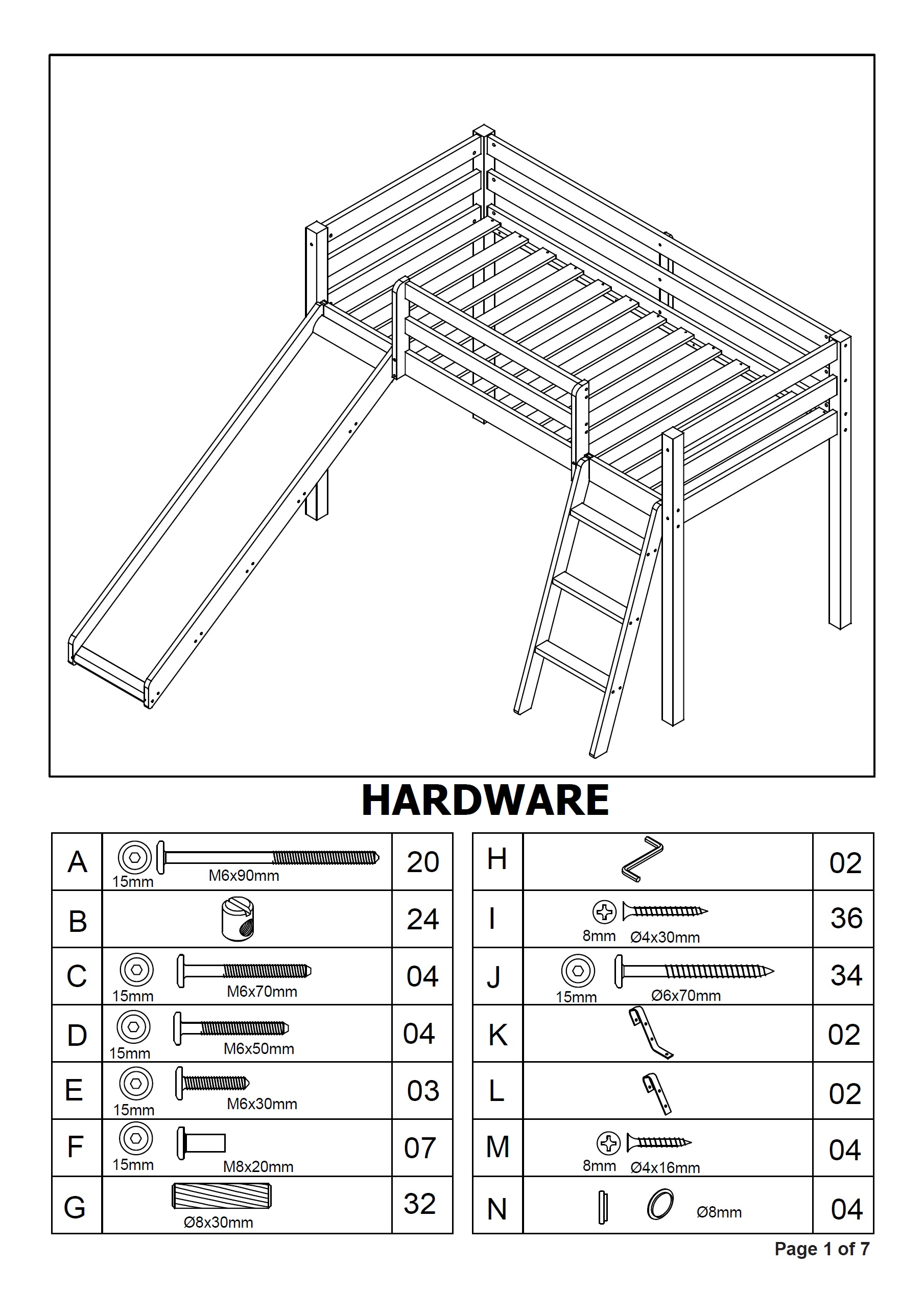 jay be bunk bed assembly instructions