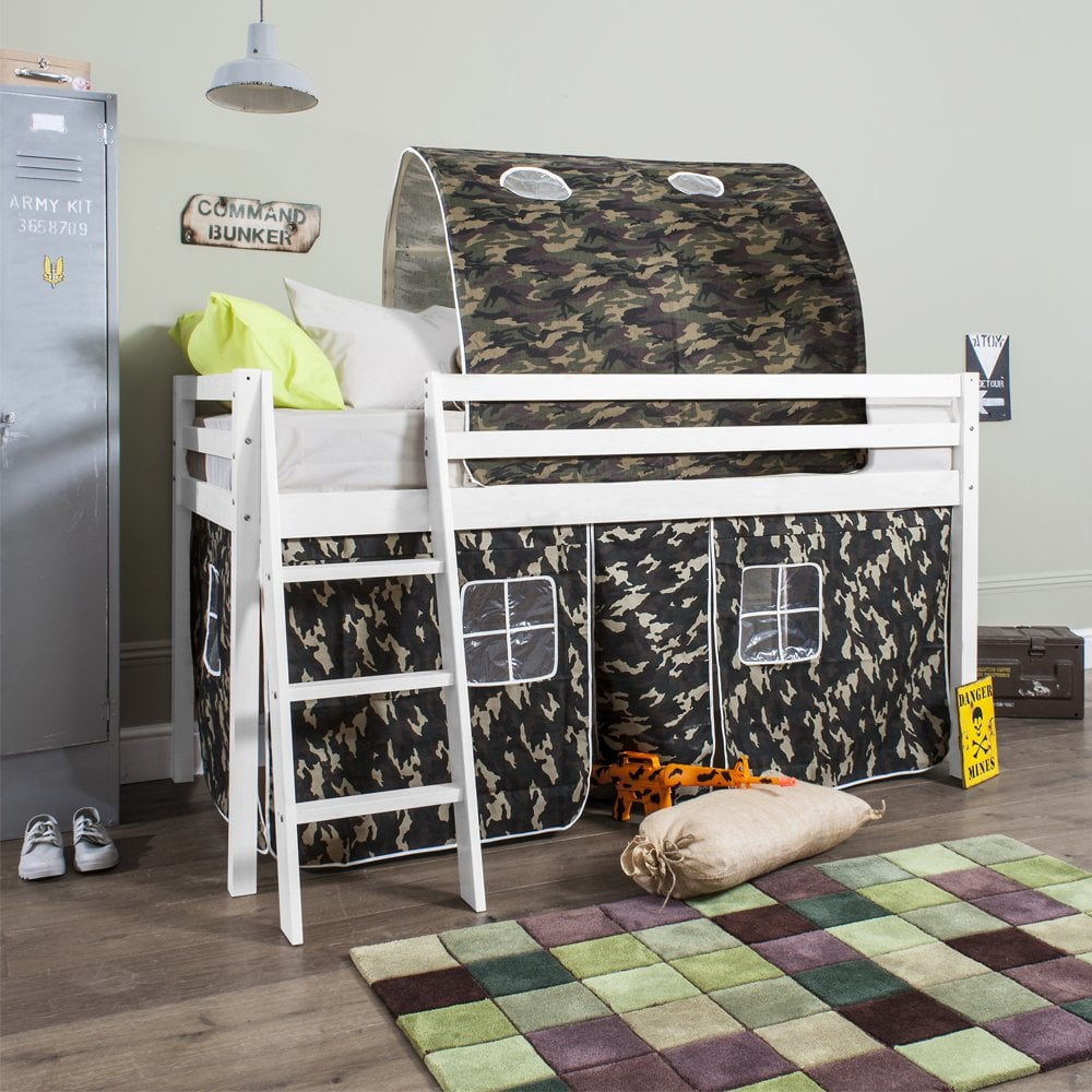 Cabin Bed Midsleeper Army