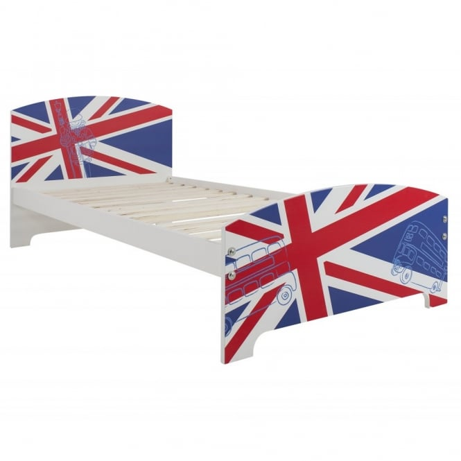 Best of British Single Bed with Union Jack Design