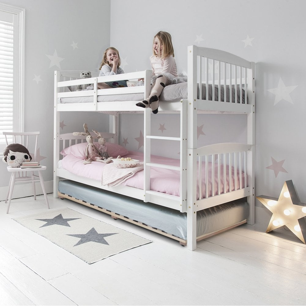 Brighton Triple Bunk Bed With 3 Single Beds Noa Nani