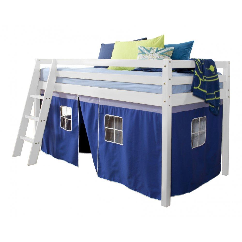 Home cabin bed tents brilliant blue brilliant blue mid