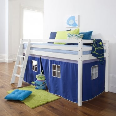 Tent for Midsleeper Cabin Bed in Blue