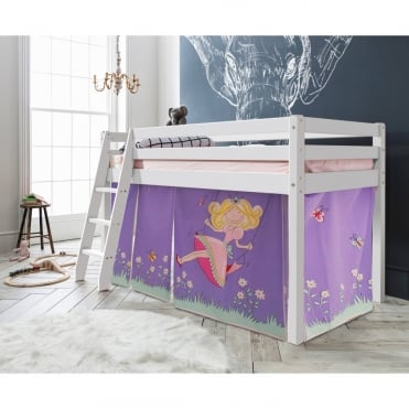 Cabin Bed Thor Midsleeper with Annabel Tent