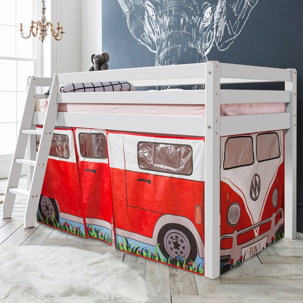 Cabin Bed With Campervan Tent Amp Tunnel Noa Amp Nani