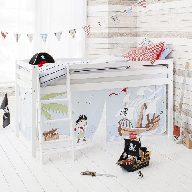 Cabin Bed with Ladder and Tent in Pirate Pete Design