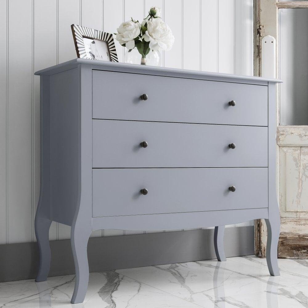 Camille Grey Chest Of Drawers Noa And Nani