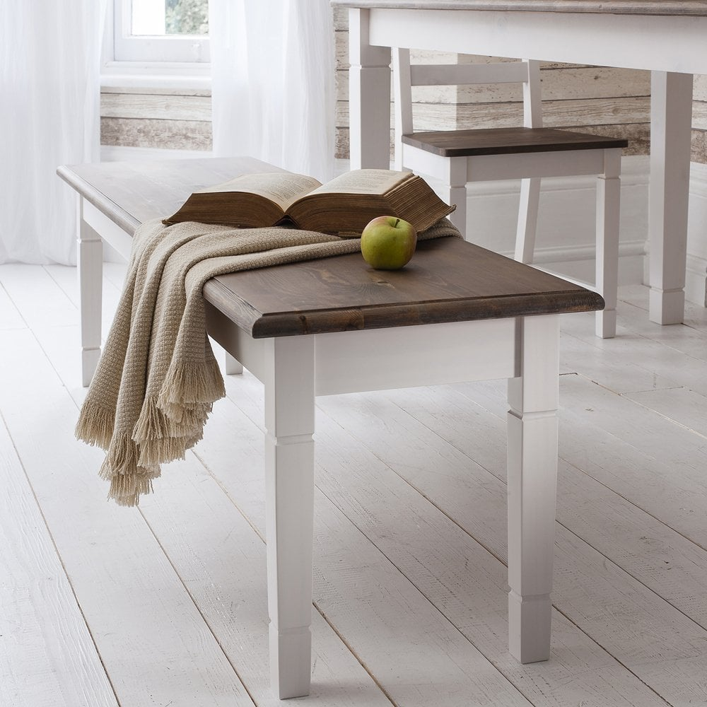 Canterbury White Dining Table Bench Noa Amp Nani