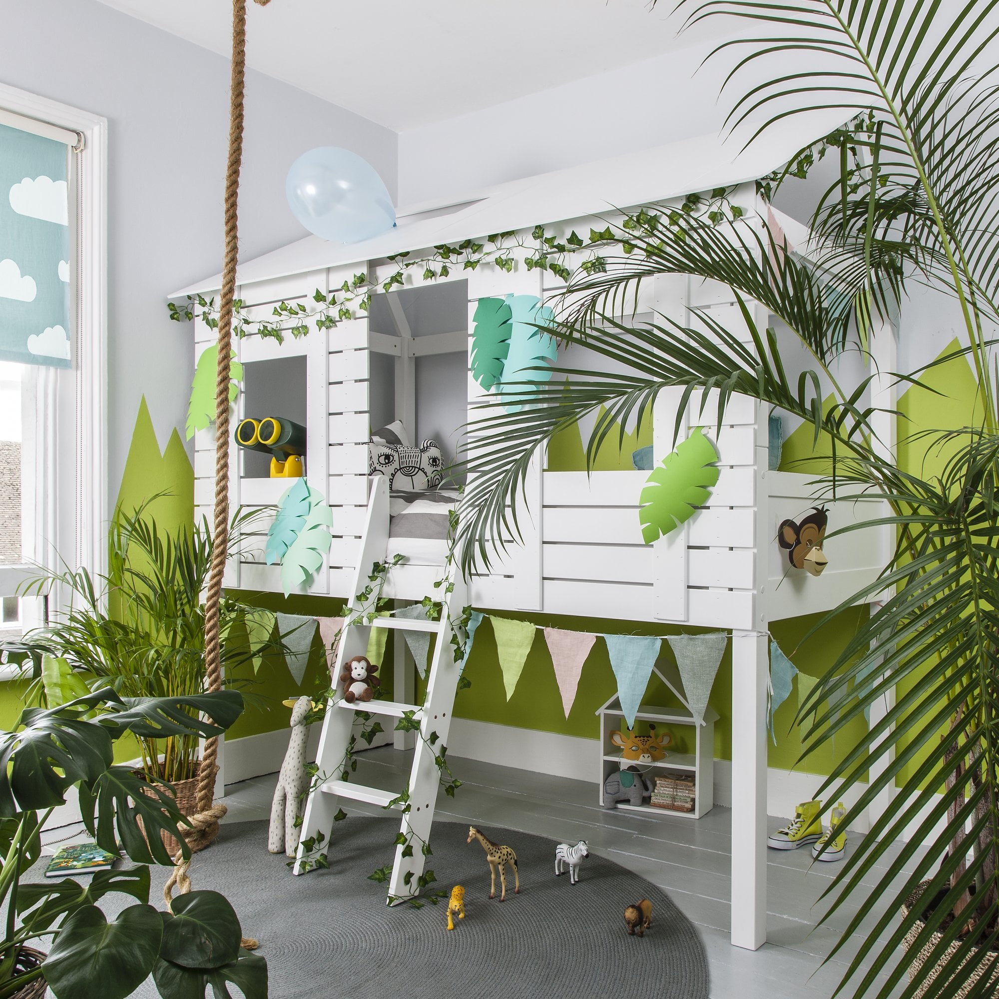Treehouse Midsleeper Jungle Cabin Bed Noa Nani