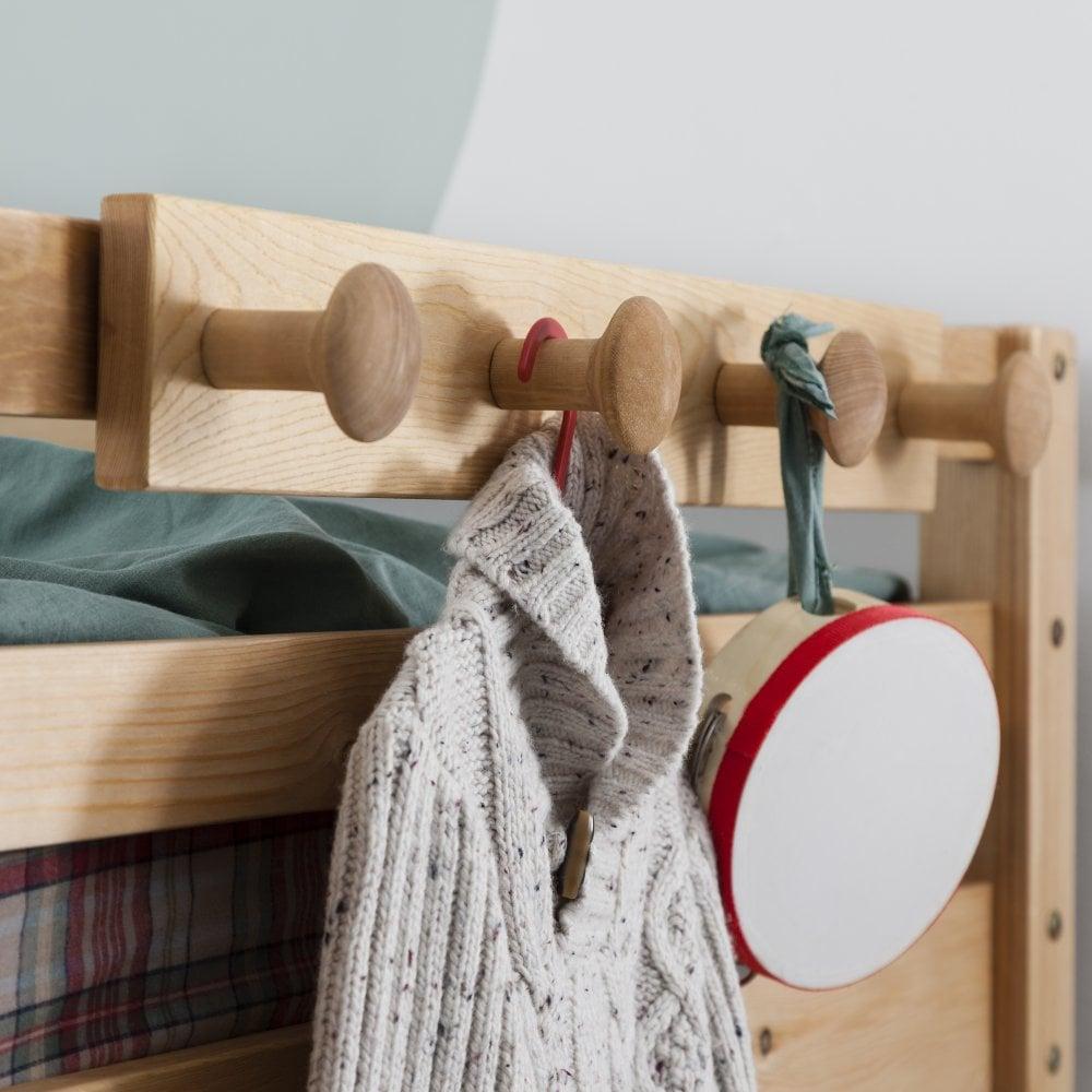 Home, Furniture & DIY Racks & Hooks Coat Hook Peg Rail for Bunk Beds and Cabin beds Kids bed