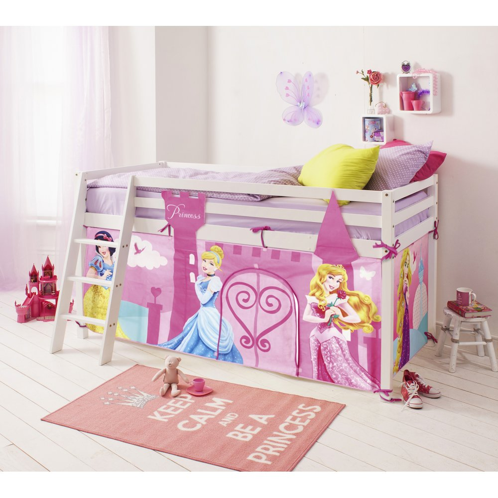 Disney Princess Mid Sleeper Cabin Bed Tent  sc 1 st  Noa u0026 Nani & Tent for Midsleeper Cabin Bed