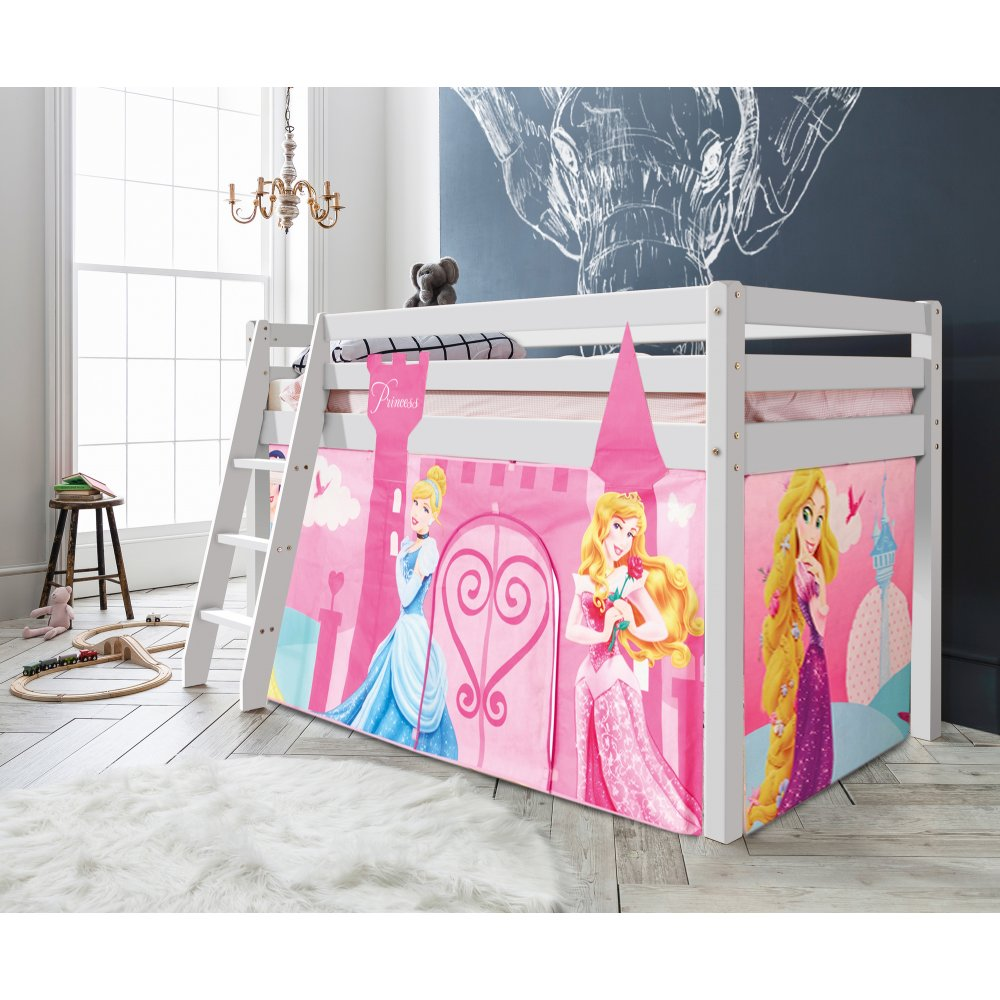 Disney Princess Midsleeper Thor Cabin Bed with Tent  sc 1 st  Noa u0026 Nani & Disney Princess Midsleeper Thor Cabin Bed with Tent | Noa u0026 Nani