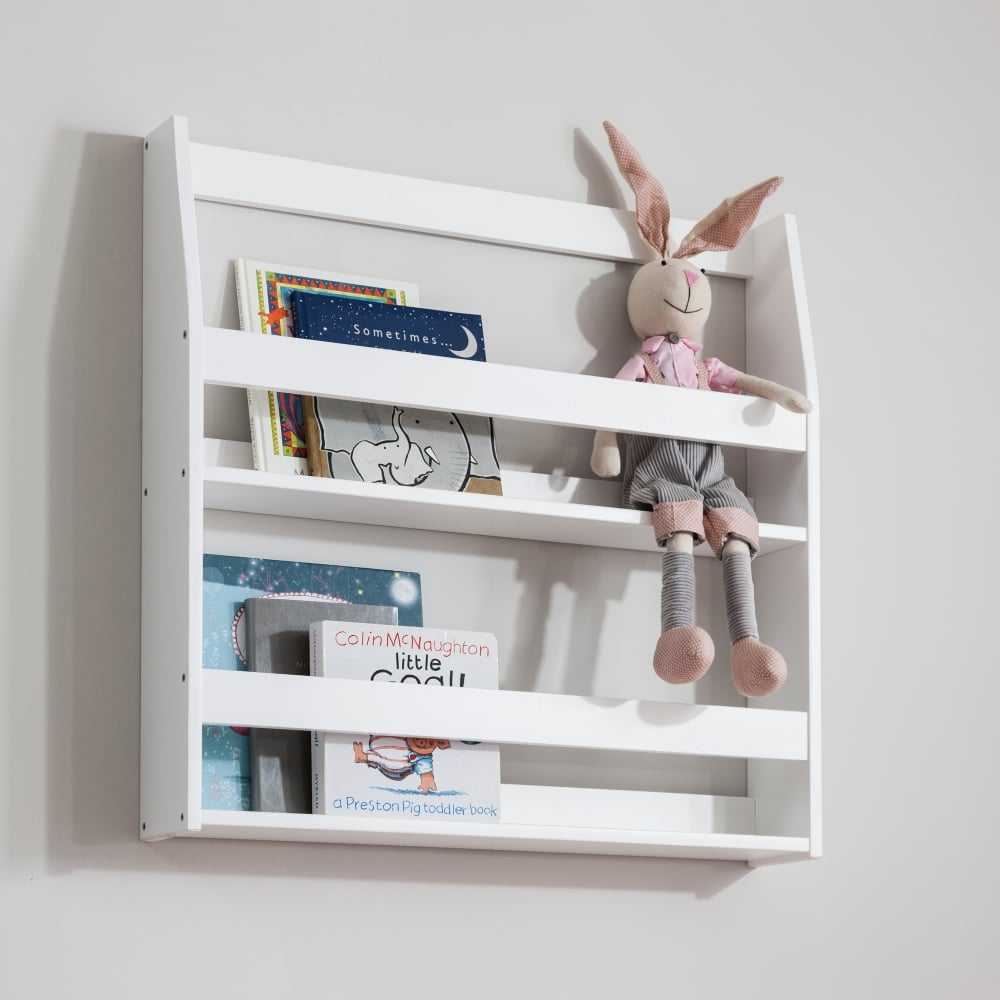 separation shoes d14ea 4ed83 Display Shelf Bookcase Wall mounted in White