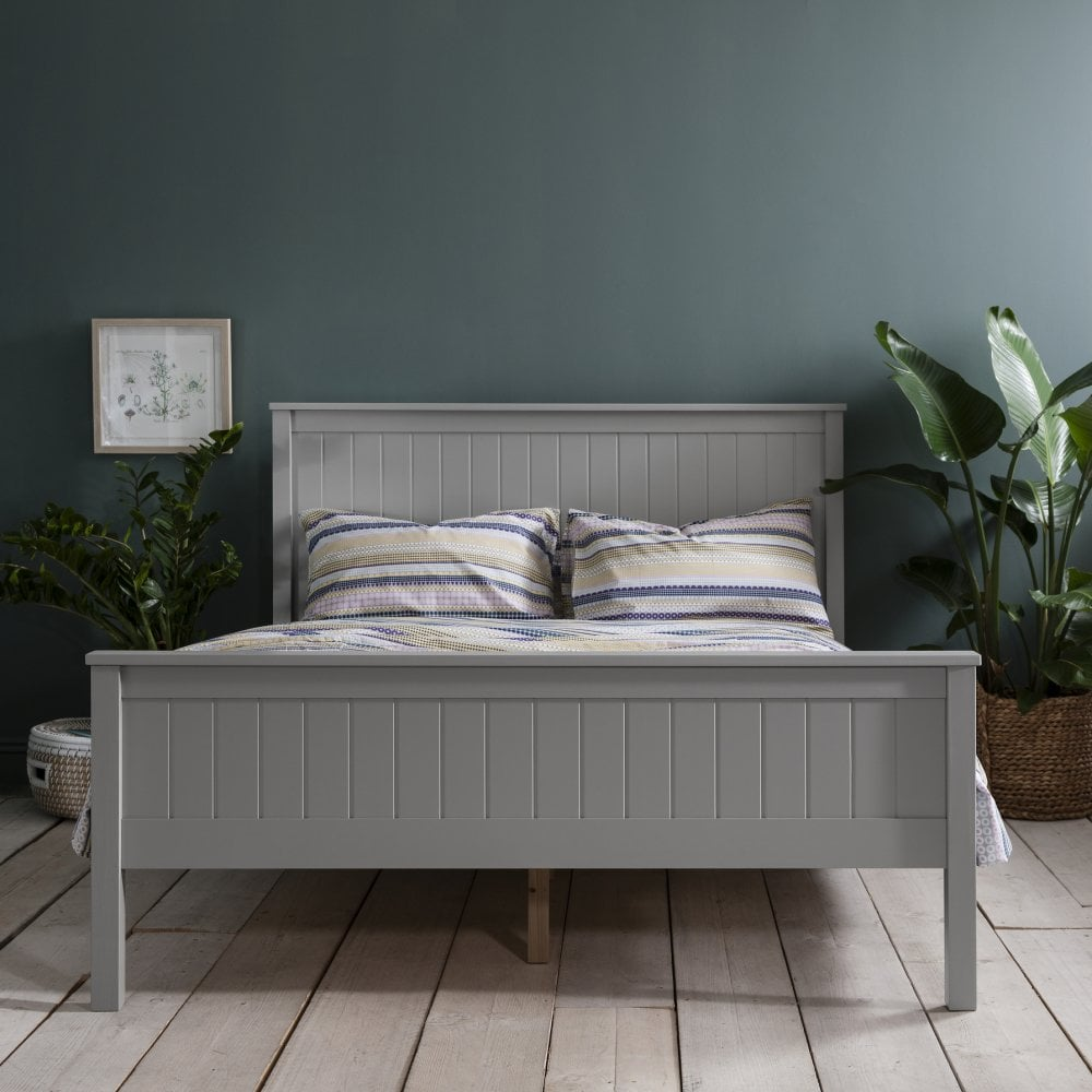 Dorchester Double Bed in Grey | Nöa & Nani
