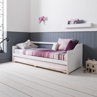 Kids bed Loft Hove Day Bed In White Noa Nani Childrens Single Beds Kids Single Bed Frames Noa Nani