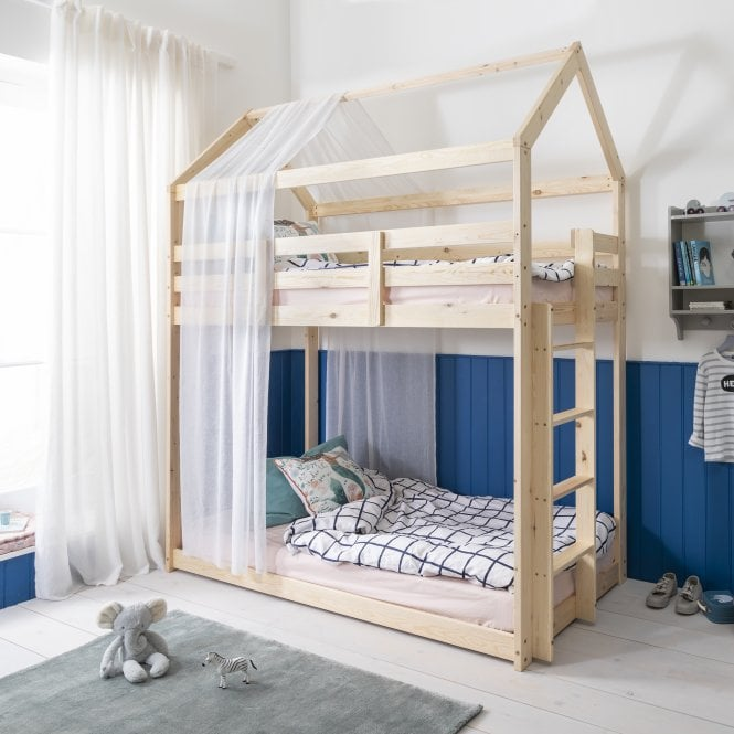 Loft Bunk Bed in Natural Style