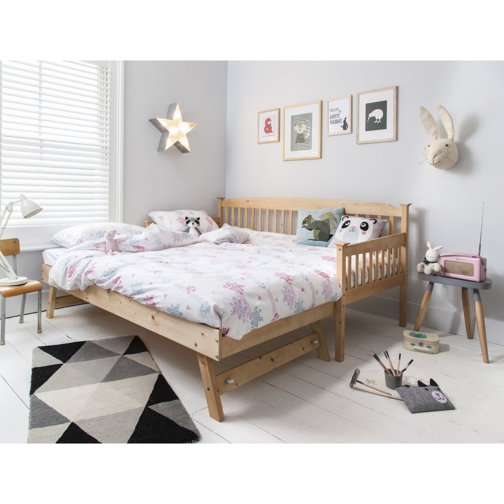 - Isabella Day Bed In Natural With Pull Out Trundle Noa & Nani