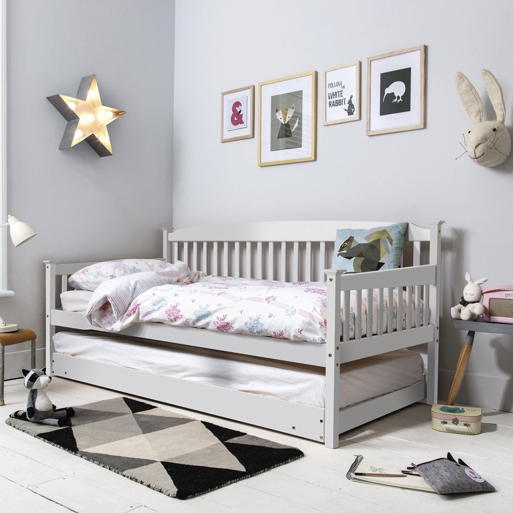 - Isabella Day Bed With Pull Out Trundle In White Nöa & Nani