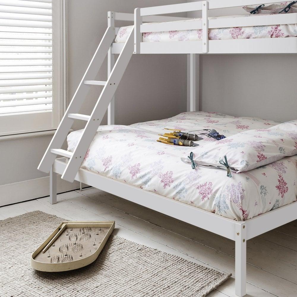 Kent Triple Bunk Bed In White Noa Nani