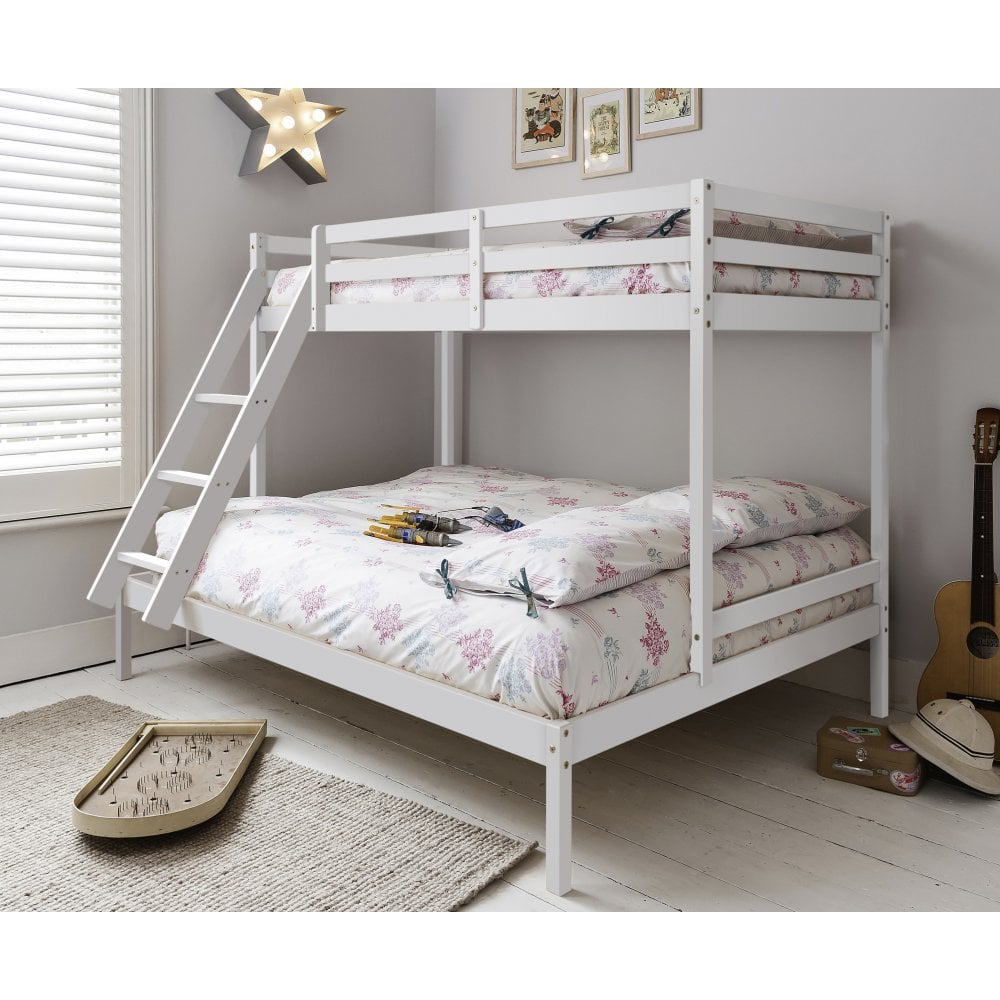 Kent Triple Bunk Bed In White Noa Nani
