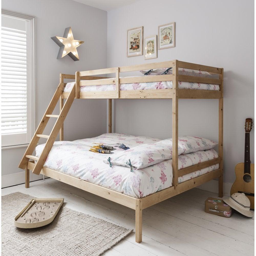 Kent Triple Bunk Bed In Natural Noa Nani