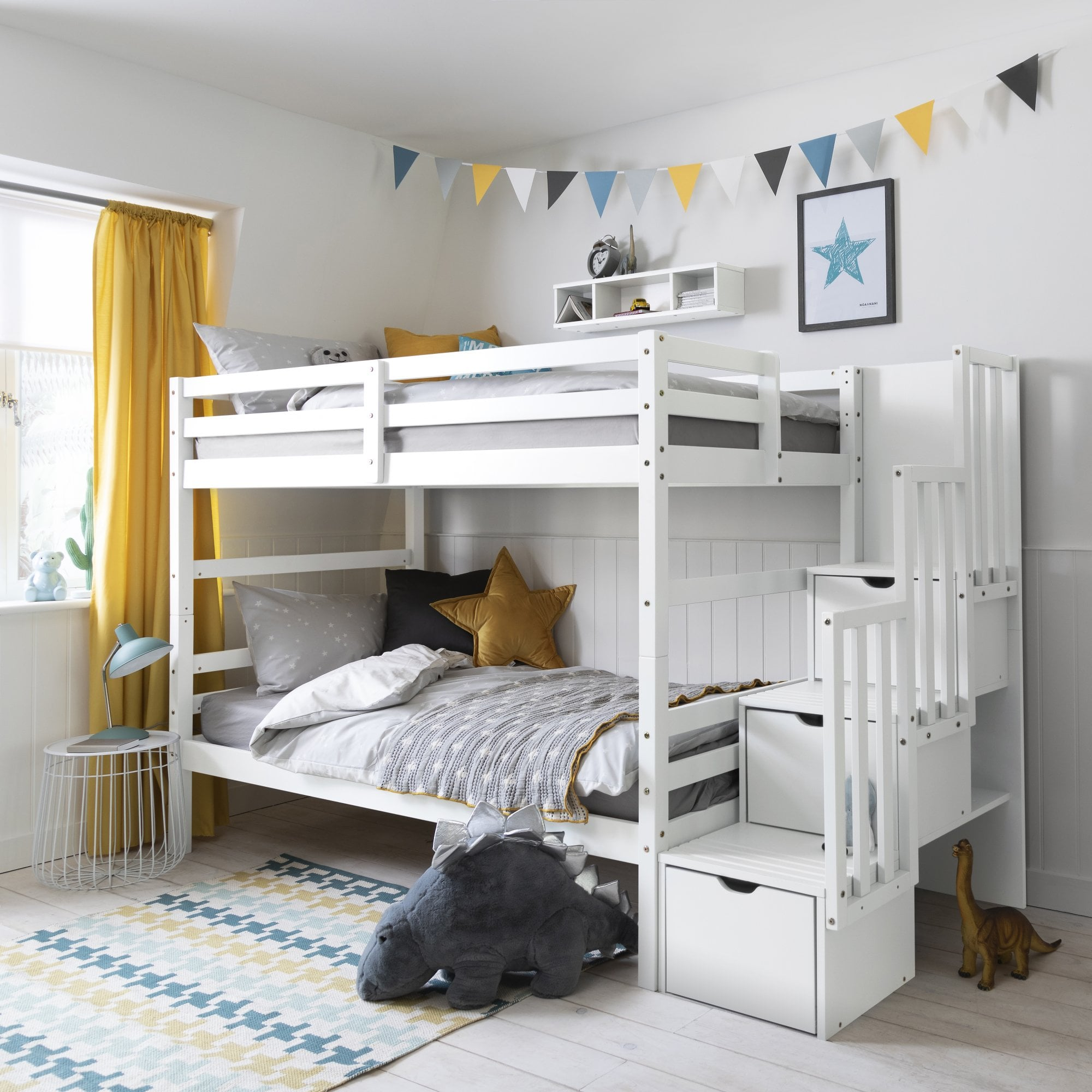 Picture of: Maya Bunk Bed In White Noa Nani