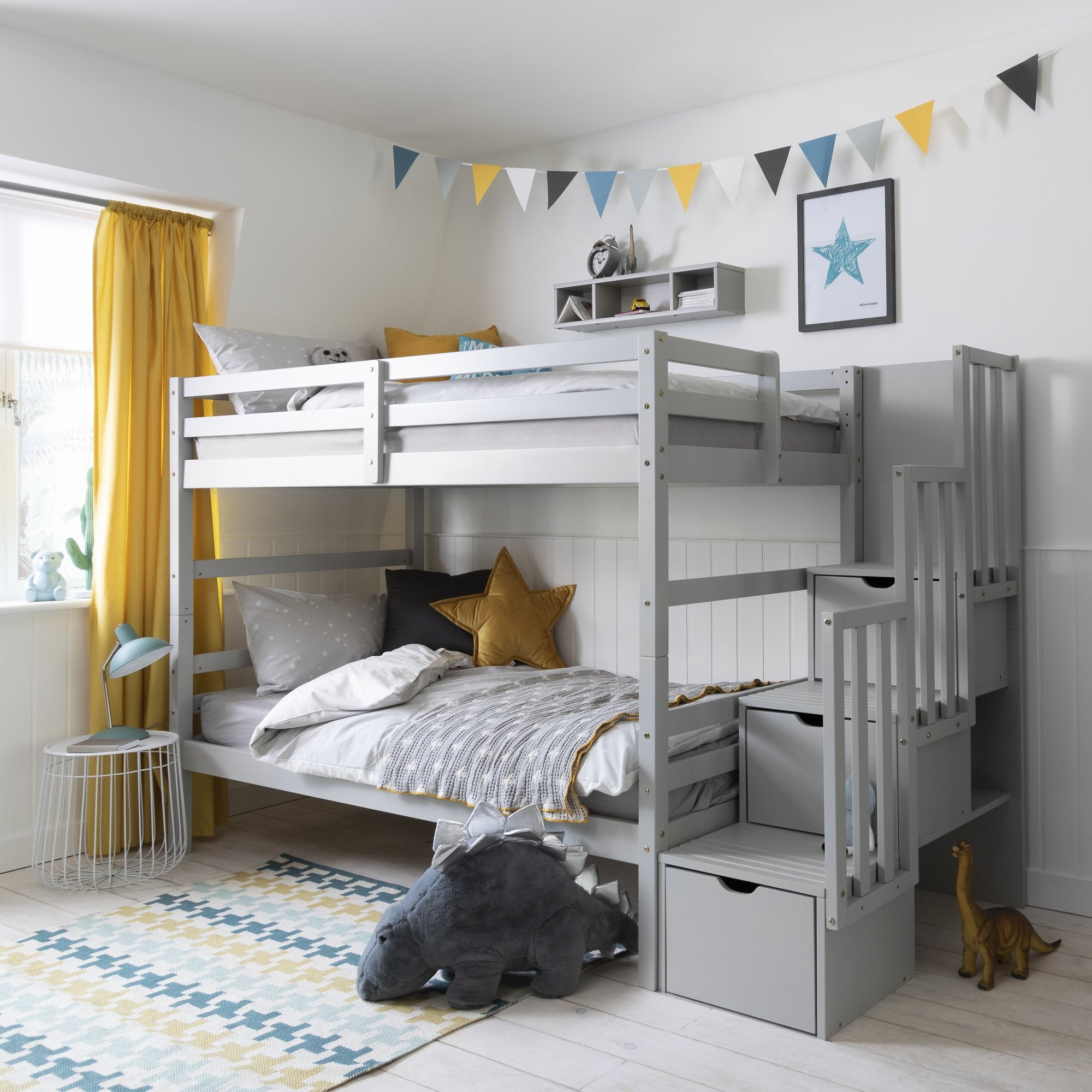 Maya Bunk Bed In Grey Noa Nani