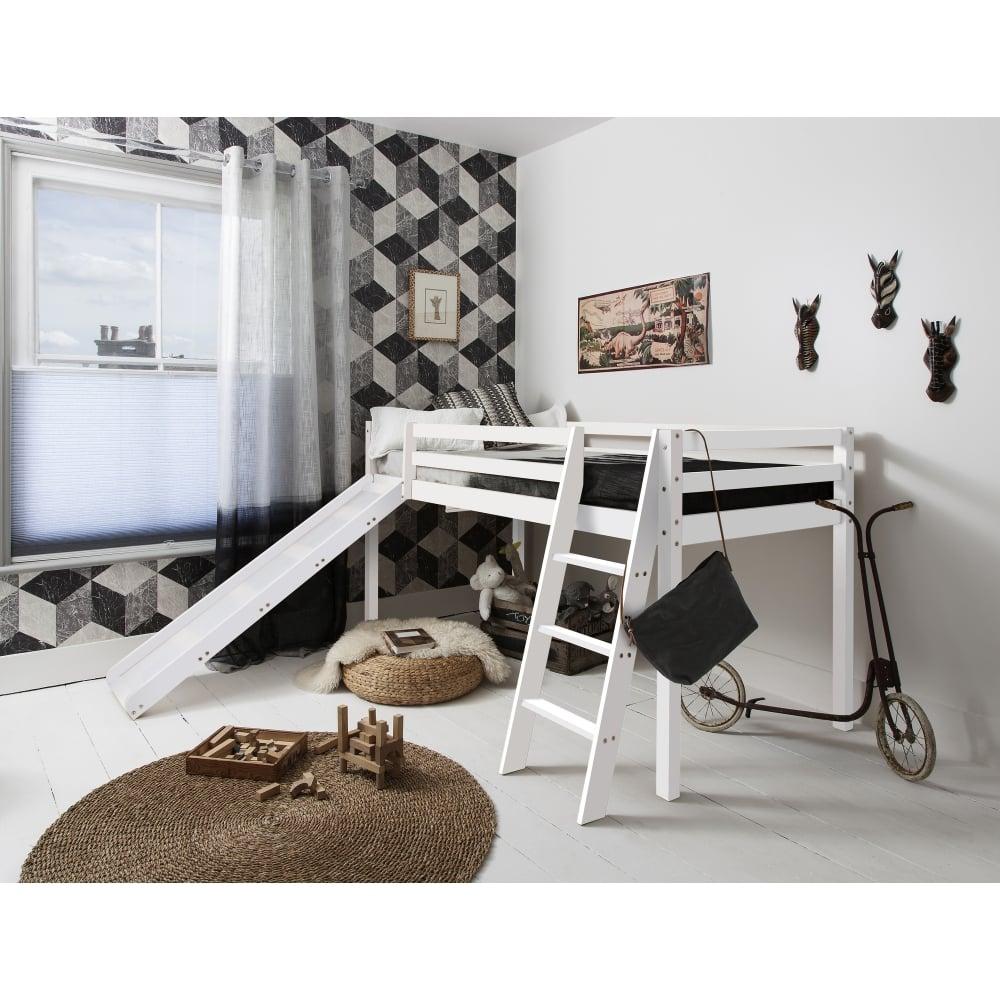 Silk Grey Mid Sleeper Cabin Bed | Noa & Nani