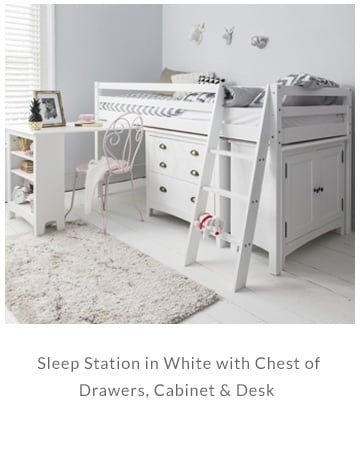 Sleep Station in White