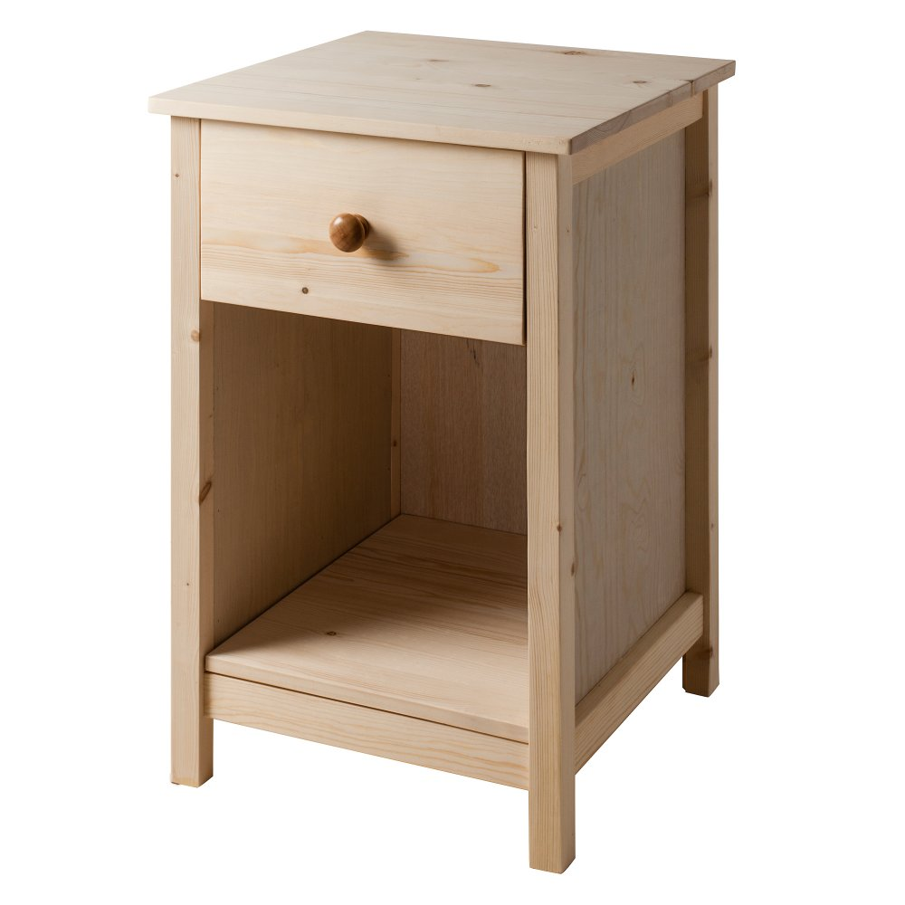 Pink Fairy Wishes Bench Seat With Storage Toy Box Seating: Noa And Nani 1 Drawer Bedside Cabinet Arla In Raw
