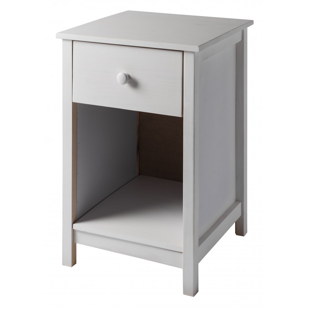 Pink Fairy Wishes Bench Seat With Storage Toy Box Seating: Noa And Nani 1 Drawer Bedside Cabinet Arla In White