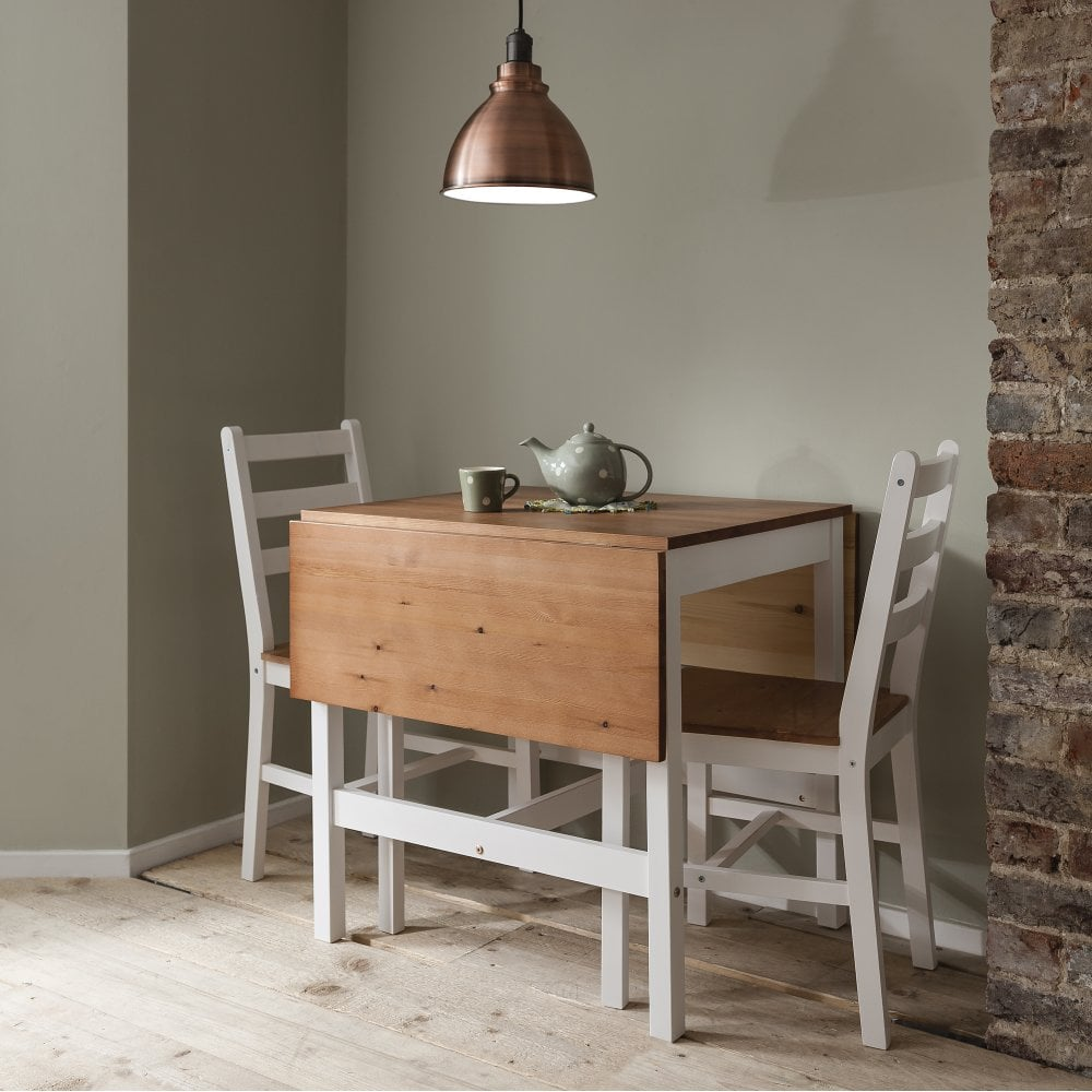 Drop Leaf Dining Table Annika Drop Leaf Dining Table With 2 Chairs Noa Nani