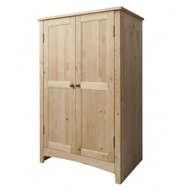 Asgard Wardrobe in Natural Pine