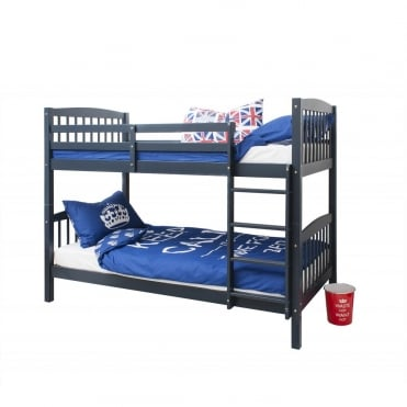 Noa and Nani Brighton Blue Bunk Bed with 2 Single Beds