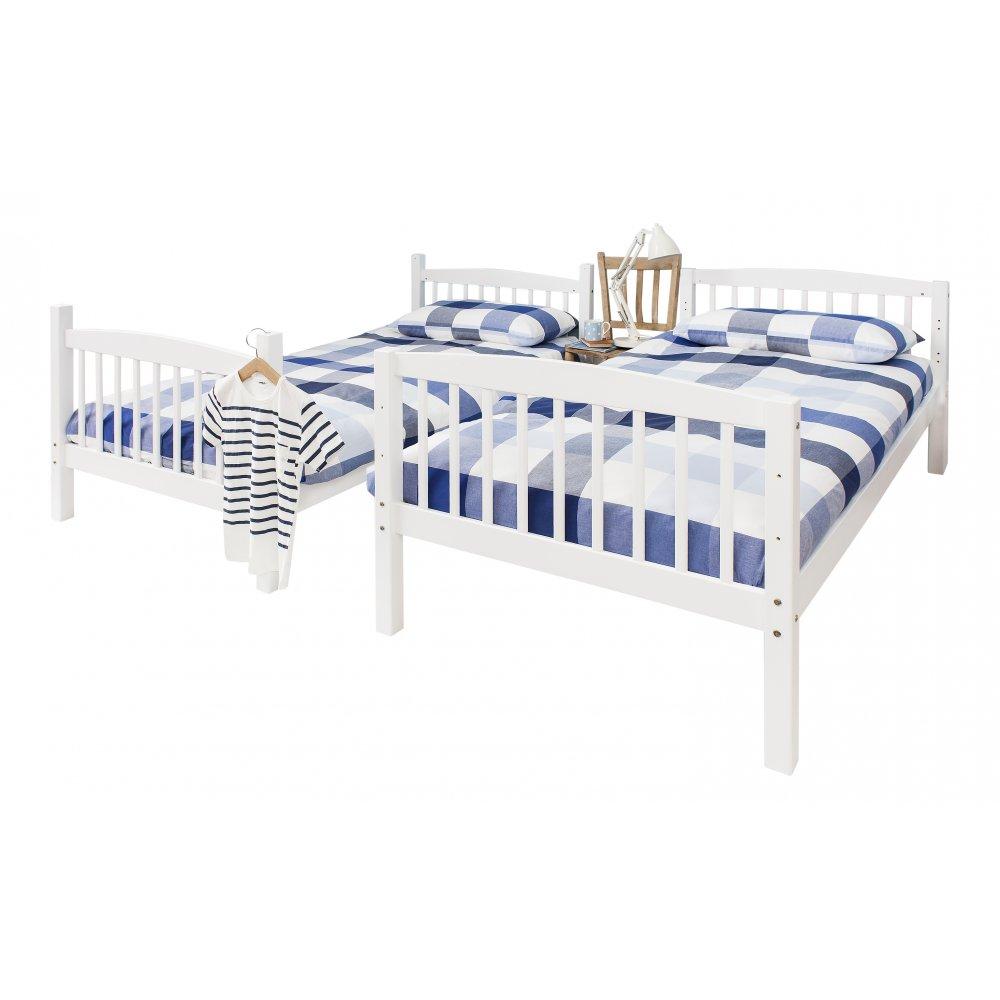Brighton single Bunk Bed in White  Noa & Nani