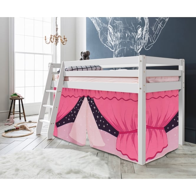 Noa and Nani Cabin Bed Thor Midsleeper with Showtime Tent