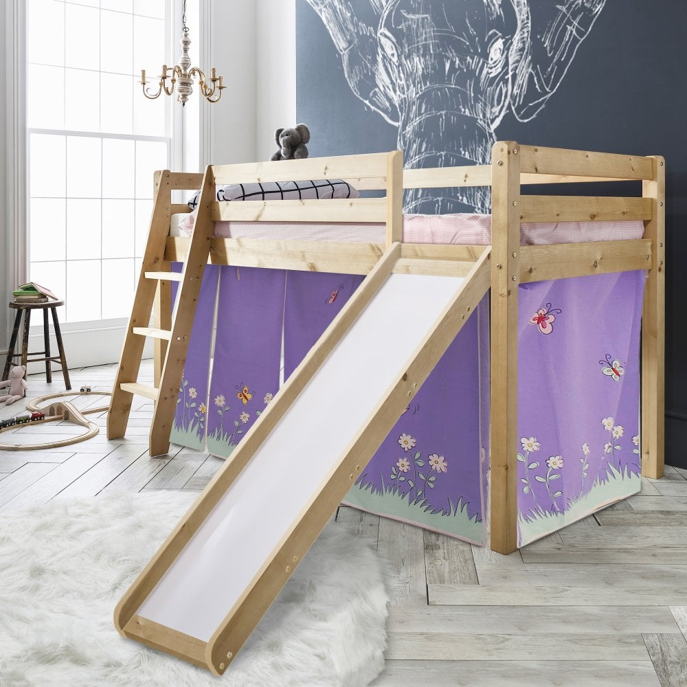 Annabel Cabin Bed with Slide & Tent | Noa & Nani