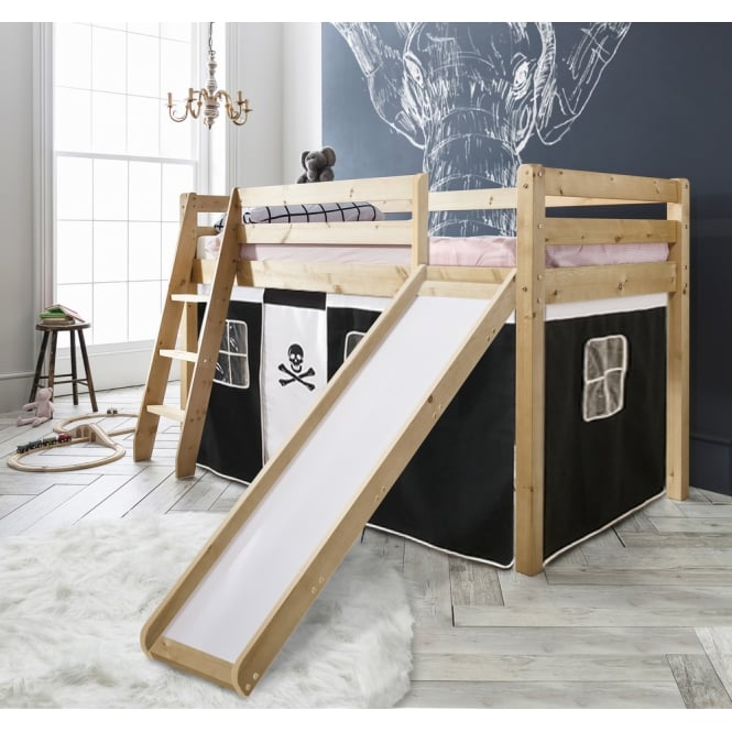 Pirate Cabin Bed With Slide And Tent Noa Nani