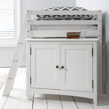 Cabinet Underbed Storage Unit in White