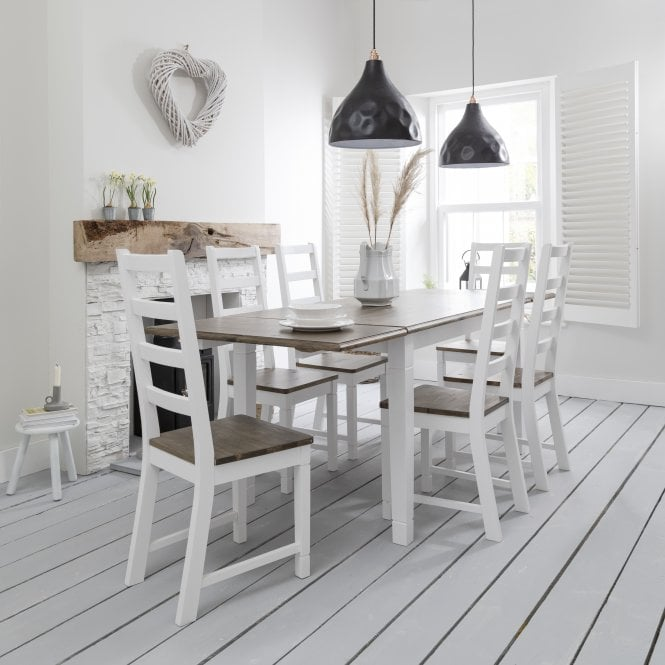 Noa and Nani Canterbury Dining Table with 2 x Extensions