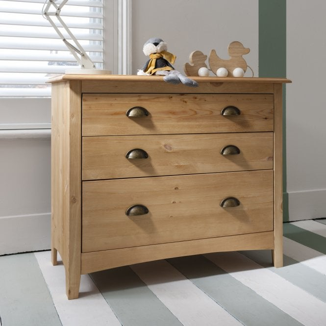 Noa and Nani Chest of Drawers 3 Drawer in Natural