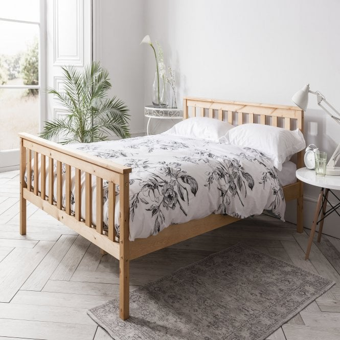Noa and Nani Double Dorset Bed in Pine