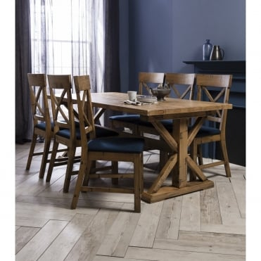 Faversham Dining Table with 6 Chairs