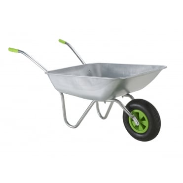 Garden Wheelbarrow in Galvanised Steel