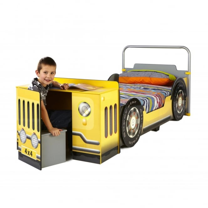 Noa and Nani Jeep Bed Single 4x4 with Desk