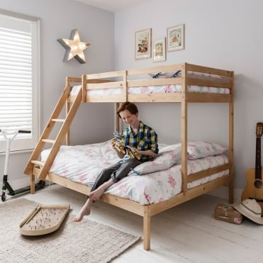 Kent Triple Bed Bunk Bed in Natural