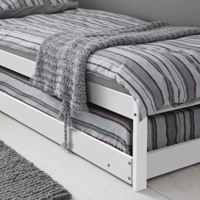 Noa and Nani Matheus Pull out Spacesaver Trundle Bed in White