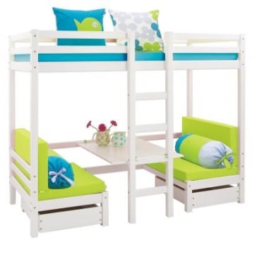Max Bunk Bed with Table and sleep centre
